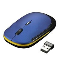 Ultra-Slim Mini USB Wireless Optical Wheel Mouse Mice for All Laptop HP Dell N3