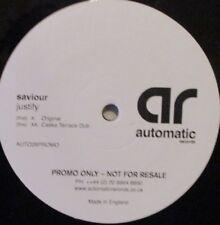 """SAVIOUR - Justify ~ 12"""" Single"""
