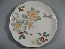 Lenox Butterfly Meadow Holiday Dinner Plate Dragonfly New