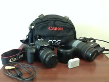 Canon EOS 1000D with EF-S 18-55mm f/3.5-5.6 III Lens + Full Accessory Bundle