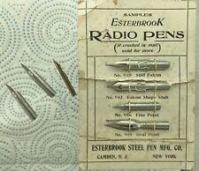 Various Dip Pen Nibs To include Esterbrook Spencerian Super flex Etc