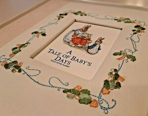 NEW Peter Rabbit Baby Book A Tale of Baby's Days - CR Gibson 2005 Memory Book