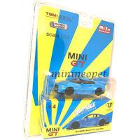 MINI GT 04 LIBERTY WALK LB WORKS NISMO NISSAN SKYLINE GT-R R35 1/64 LIGHT BLUE