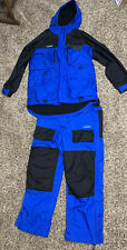 New listing Excellent Cond Ice Snow Fishing Suit Med. Ice Armor byClam Bib Overall & Jacket