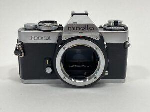 Minolta XD11 35mm SLR Film Camera Body for Parts or Repair