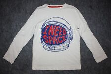 C5 Mini Boden Boys I NEED SPACE Blast off T-Shirt 9-10