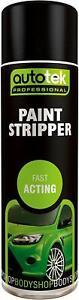 Paint Stripper - 500ml Autotek Aerosol Spray Can Paint Remover Paint Stripper