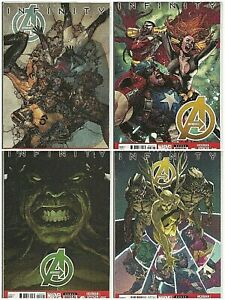 °AVENGERS #14-17 INFINITY: PRELUDE 1 bis 4 von 4°US Marvel 2014 J. Hickman