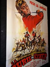LA FURIE DE KYBER  peter lee lawrence affiche cinema 1970