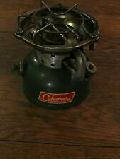 VINTAGE COLEMAN MODEL 502 GREEN CAMP STOVE DATED 7/ 67 USA Clean!