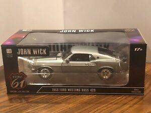 Highway 61 1969 John Wick Ford BOSS Mustang 429 1/18