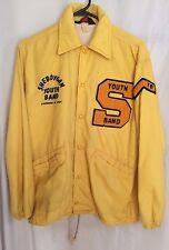 1978 Sheboygan Youth Band Chevron Jacket Pla-Jac by Dunbrooke 36-5-38