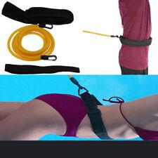 Cinturón de entrenador de natación nadar piscina Correa Correa De Resistencia Arnés De Ayuda a la formación