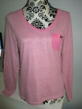 womens/girls long sleeve top - pink - Lee Cooper - size 12 - New