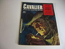 Vintage CAVALIER magazine DEC 1957 ERSKINE CALDWELL; JOHN L SULLIVAN; OCTOPUS