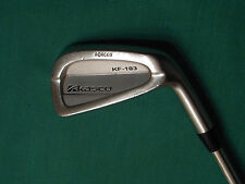 KASCO KF-103 FORGED 6 IRON - R400 STEEL SHAFT - GOOD CONDITION!