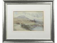 Irish Mountain Landscape - Original Watercolour - British Art