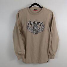 Dakine Long Sleeve Shirt Mens Size Medium Tan 1979