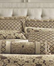 Croscill Sorina Pillow Sham Bedding Decorative Brown European New $85 Retail