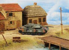 Wargame Diorama Model US NATO Heavy Battle Tank M1A2 Abrams 1:130 Scale K1120_D