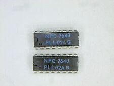 """PLL02AG  """"Original"""" NPC  16P DIP IC  2  pcs"""