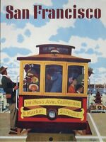 POST CARD WITH ADVERTISEMENT FOR SAN FRANCISCO