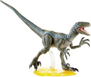 Jurassic World Amber Collection 6 Inch Action Figure | Velociraptor Blue