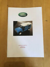 custom built lego Light Blue Land Rover 110 INSTRUCTIONS ONLY