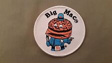 big mac embroidered mcdonalds patch