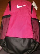 Nike Womens/Girls Backpack 9.0 BA5954 666 Brasilia rush pink/black/white
