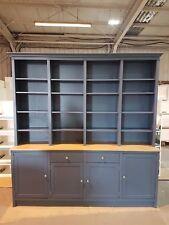 Bookcase  Farmhouse Unit Large Shelf 1800mm Wide painted any colour