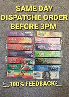 Juicy jays king size slim rolling paper genuine all flavours rizla kit