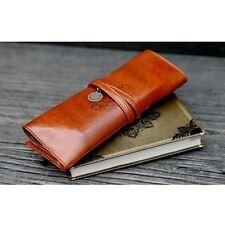 Cheap Sale Travel Cosmetic Make Up Brush Fold Bag Case Roll Holder Purse hkuk