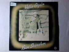 BEN STENEKER Hello again lp HOLLAND RARISSIMO