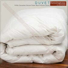 Luxury 100% Double Bed Siberian Goose Down Duvet Quilt Hotel Quality in All Togs