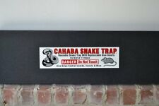 Reusable Snake Trap with Replaceable Glue Inserts by Cahaba Snake Trap