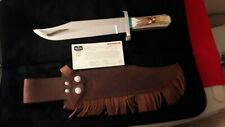 903 BUCK BOWIE KNIFE .SERIAL # 1 OF 25O KNIVES MADE. A TRUE COLLECTORS PEICE.