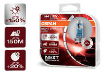 OSRAM Night Breaker® LASER NEXT GENERATION H4 Sockel +150% mehr Sicht DuoBox