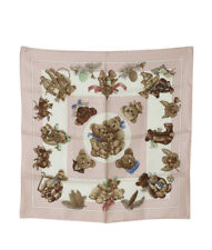 Hermes Confidents Descoeurs Multi-Color Silk Scarf