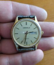 Vintage Caravelle Bulova Men's Quartz watch needs battery