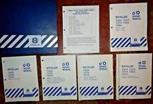 New Holland TN60A TN70A TN75A TN85A TN95A Tractor Service Repair Manual ORIGINAL