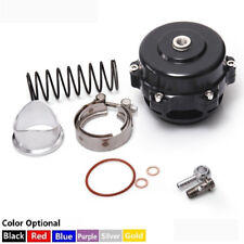 Universal JDM 50mm V Band Blow Off Valve BOV Q Typer Weld On Aluminum Flange Bk