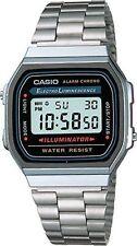 Casio - A168W-1 - Men's  Stainless Steel Watch