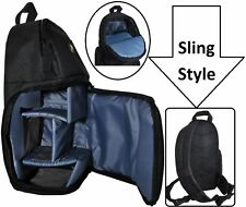 Sling Style Shoulder Backpack Case For Sony Alpha A6300 ILCE-6300 DSC-RX1R-M2 II