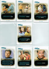 STAR TREK ORIGINAL SERIES 40TH ANNIVERSARY QUOTABLE STAR TREK SINGLE CARDS