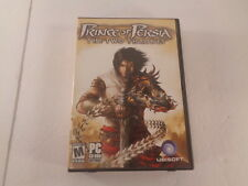 Prince of Persia The Two Thrones PC Video Game 2005 3 Discs Case Manual