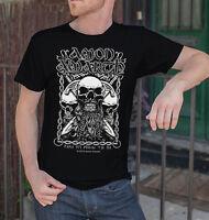 Amon Amarth Men Black T-Shirt Death Metal Band Tee Shirt Vikings Swedish Metal 1