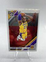 2019-20 Panini Donruss Optic #60 LeBron James Los Angeles Lakers 📈