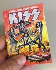 Mini KISS Marvel Comic Book