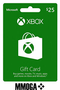 Xbox Live Gift Card 20 USD - $20 US Dollars USA Microsoft One 360 Guthabn Code